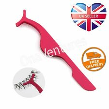 Tweezer Applicator for False Lashes Falsies Fake Eyelashes Tool Clip UK Seller!