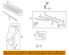 HONDA OEM 96-00 Civic Wiper Washer-Windshield-Nozzle Left 76815S01004