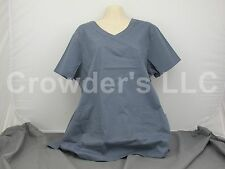 Scrub Star Premium Shirt Top Size L/G Color Grey