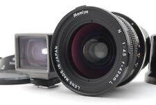 [MINT] Mamiya N 43mm F/4.5 L Medium Format Lens for Mamiya 7 7II From Japan#285