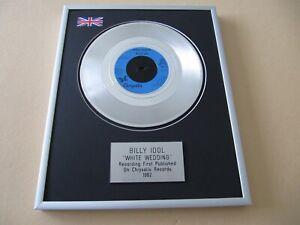 BILLY IDOL White Wedding PLATINUM PRESENTATION DISC