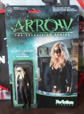 REACTION DC direct Tv Arrow Black Canary Figure new funko retro kenner
