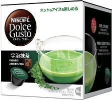 Nestle Coffee Capsules Nescafe Dolce Gusto Uji Matcha Green Tea Japan free ship