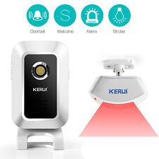 Wireless Sensor Infrarot Zellenentfer Vorhang PIR Detektor Alarm Alarmanlage