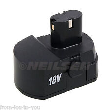 Replacement / Spare Battery for Neilsen 18v cordless drill CT1787