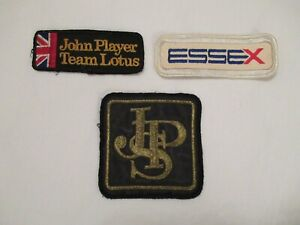 Team Lotus F1 JPS Essex sew on patch badge >RARE< Fittipaldi Peterson Andretti