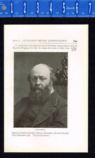 Lord Robert Gascoyne-Cecil, 3rd Marquess of Salisbury- 1899 Historical Print