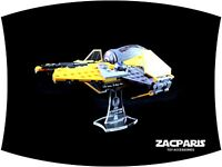 DISPLAY STAND for Star Wars Lego 75038 Jedi Interceptor - Clear acrylic, Nice!