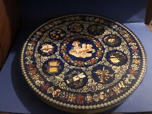 Springbok Circular Puzzle - Table Of The Muses - 1969