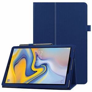 """New Folio Cover Holder For Samsung Galaxy Tab A 8.4"""" / 10.1"""" / 10.5"""" Tablet Case"""