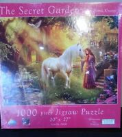 The Secret Garden a 1000pc Jigsaw Puzzle by Sunsout New Sealed