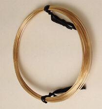 #800-42 14kt gold filled round wire medium hard 22 gauge @0.5 ounce/15 feet