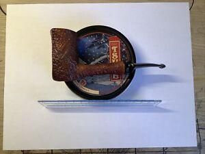 Savinelli Autograph 4 Sandblast Chimney Handmade Italy Pipe