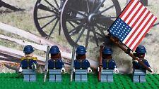 LEGO Civil War Union Army Soldier 54th Massachusetts NEW 100% Genuine LEGO