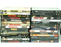 Lot of 30 Mixed DVD Movie Bundle - DVDs, Comedy, Family, Funny, Action Suspense