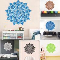 PVC Mandala Wall Art Stickers Room Mural Decal Home Door Headboard Decoration