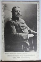 AK Deutschland Generaloberst v. Beneckendorff u. v. Hindenburg gebraucht #PD446