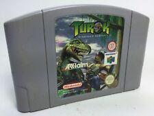 Jeu Nintendo 64 /TUROK DINOSAUR HUNTER/ Cartouche seule testée /tested cartridge