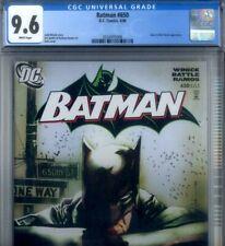 PRIMO:  BATMAN #650 NM+ 9.6 CGC JOCK cover Joker & RED HOOD appearance DC comics
