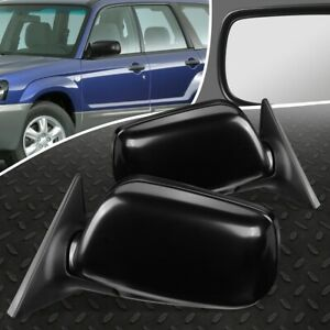 FOR 03-05 SUBARU FORESTER XS XT PAIR OE STYLE POWER+HEATED SIDE VIEW DOOR MIRROR