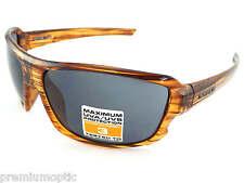 Piedra semi transparentes Forrado Para Hombre Wrap gafas de sol Marrón/Gris Oscuro CAT.3 ST176