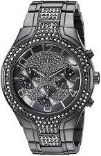 Guess Gunmetal Chronograph Ladies Watch U0628L5