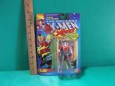 "The Uncanny X-Men X-Force Kane 5""in Figure w/Snap-Back Living Hand Toy Biz 1992"