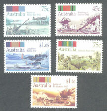 Australia-World War II Battles mnh set Military-Aviation-1992