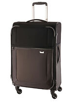 NEW Samsonite Uplite Softside Spinner Case Large 78cm Black/Grey 2.7kg