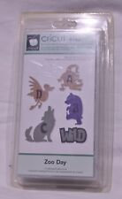 CRICUT MACHINE LITE CARTRIDGE ZOO DAY FONT 2010 NEW BNIP FROM USA RETIRED SEALED