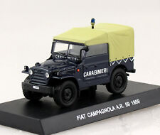 Fiat Campagnola dunkelblau AR59 Carabinieri Polizei 1959 1:43  Modellauto