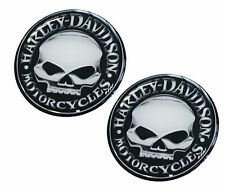 2 Domed Stickers Badge Auto Moto Tuning Motorcycle Harley Skull Helmet E 82