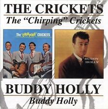 The Crickets - The Chirping Crickets + Buddy Holly - Buddy Holly (2000)  CD  NEW