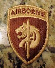 ARMY PATCH, U.S.SPECIAL OPERATIONS COMMAND AFRICA, DESERT, DCU, DBDU