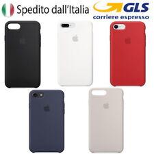 APPLE COVER CUSTODIA PER IPHONE 7 / 7 PLUS / 8 / 8 PLUS SILICONE CASE ORIGINALE