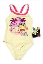 Vêtements jaunes en polyamide pour fille de 2 à 16 ans