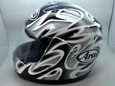 Arai RX7 Full Face Helmet RX7RR4 Colin Edwards Silver Small replica Moto GP NICE