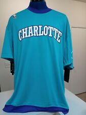 New Nike Jordan Charlotte Hornets Hardwood Classics Shooting Shirt Warm Up Large