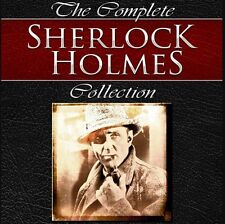 Sherlock Holmes Complete Audio Book Collection MP 3 DVD + FREE EBOOKS 90 Hours
