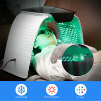 7Colors Professional Hot And Cold Spray Photon PDT LED Light Facial Mask Machine
