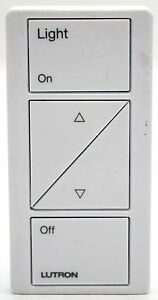 Lutron Pico PJ-2BRL-WH Wireless On/Off/Raise/Lower Buttons Remote Control WHITE
