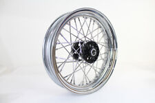 "Replica Harley Davidson Panhead Knucklehead UL WL 16"" Front or Rear Spoke Wheel"
