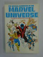 Official Handbook of the Marvel Universe TPB #5 SC 7.0 FN VF (1987)