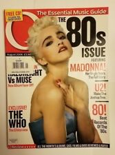 Q magazine Aug 2006 Madonna cover Intact U2 The Who Razorlight Muse 80's