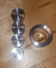 "COIN RING DIE SET FOR SWEDISH WRAP METHOD 1.4"" ( EXTRUSION DIE ) WITH 4 PUSH ROD"