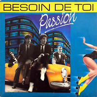 "Passion 7"" Besoin De Toi - France (VG+/EX+)"