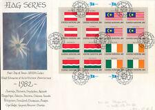 585359 / UNO FLAGGEN KLB FDC