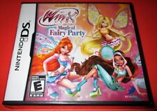 Winx Club: Magical Fairy Party Nintendo DS *Factory Sealed! *Free Shipping!