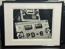 """8x10 Framed and Matted Black and White Photo - """"Stage Cases"""""""