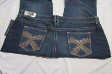 Apt 9 Jeans Apt 9 Boot Cut Jeans Womens Jeans size 24W 46 x 32 Dark Blue Jeans